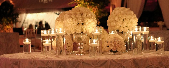 glass and stemware rentals
