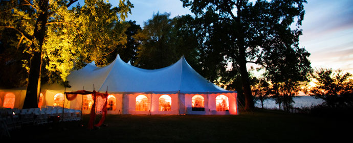 beautiful wedding tents