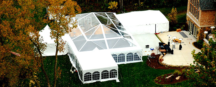 professional rental service & Frame Tents | ABC Fabulous Events Party Rentals