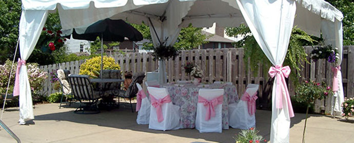 linen and decor for weddings